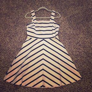Draper James Nautical Stripe Dress